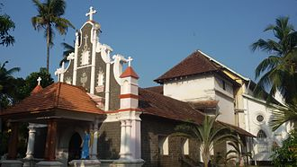 Saint Thomas Christian denominations - Kottakkavu Mar Thoma Syro-Malabar Pilgrim Church (old), North Paravur, founded by St. Thomas the Apostle and rebuilt by Mar Sabor and Mar Proth in 9th century