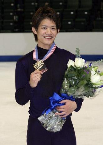 Takahiko Kozuka - Kozuka at the 2008 Skate America