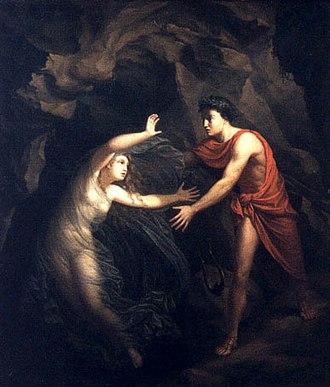 Eurydice - Christian Gottlieb Kratzenstein, Orpheus and Eurydice, 1806, Ny Carlsberg Glyptotek, Copenhagen