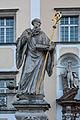 Kremsmünster Stift Brückenfigur Benedikt front.jpg