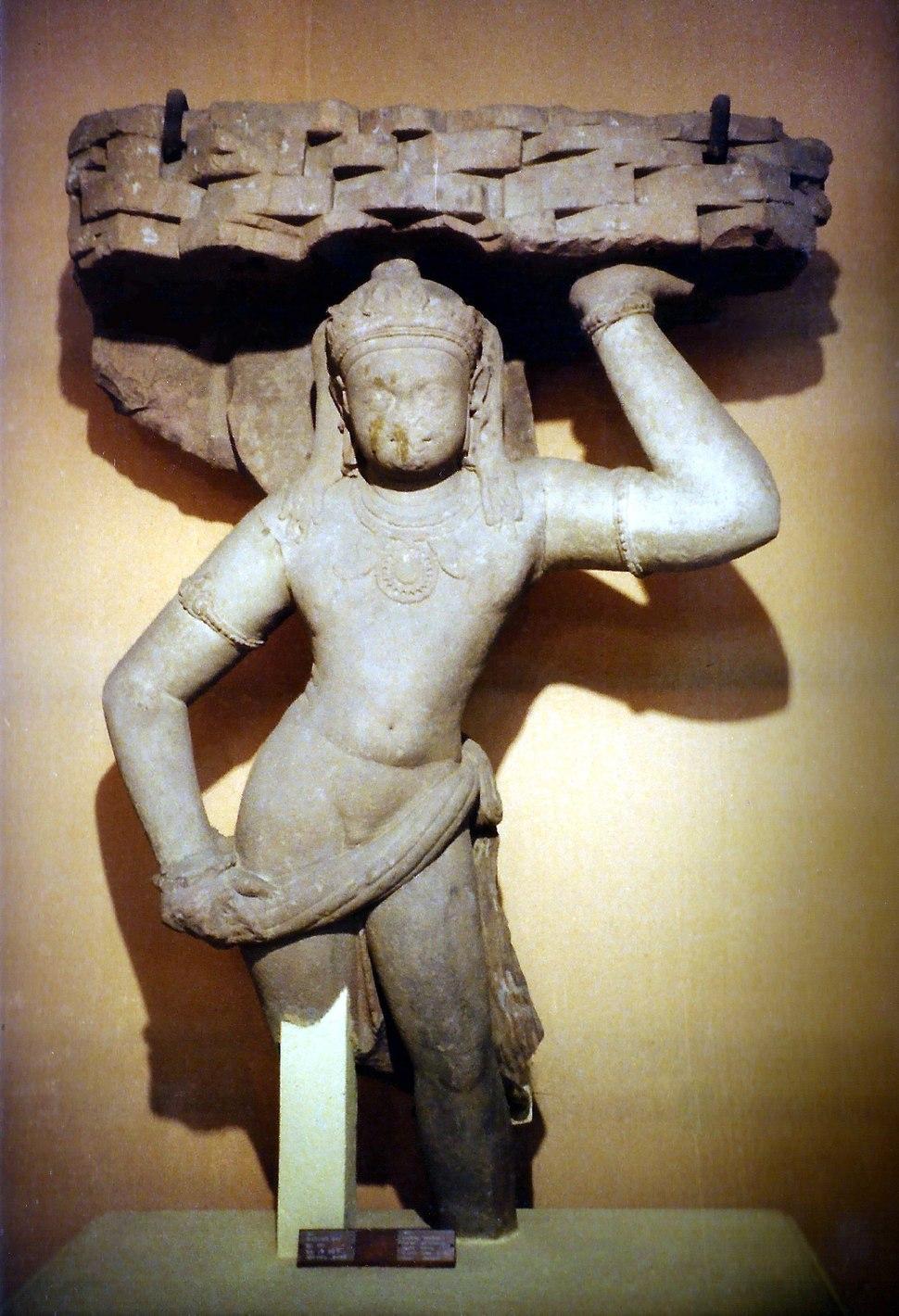 Krishna Govardhana. Bharat Kala Bhavan, ni03-24