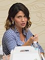 Kristi Noem comments during a listening session with local agriculture and forestry leaders (cropped1).jpg