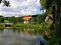 Kunice, Dolní Lomnice, pond.jpg
