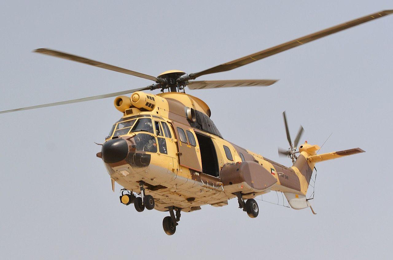 SX-HFF Eurocopter AS332L1 Super Puma C/N 2593
