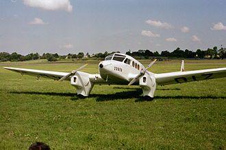 Skandinavisk Aero Industri - An SAI KZ IV ambulance plane.