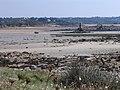 L' Ile grande, Balise de la petite Fougère à marée basse (2).jpg