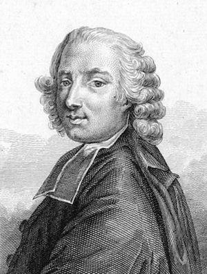 Pierre-Joseph Thoulier d'Olivet - L'abbé d'Olivet. Portrait after Charles André van Loo.