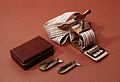 L. Gillespie's case of scarificators and a tourniquet Wellcome L0012786.jpg