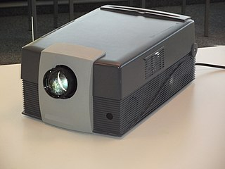 LCD projector Type of video projector