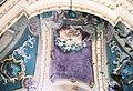 La Cappelletta, 1983, prima dei restauri, un dettaglio della volta artistico.jpg