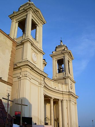 Valmontone - Colleggiata church.