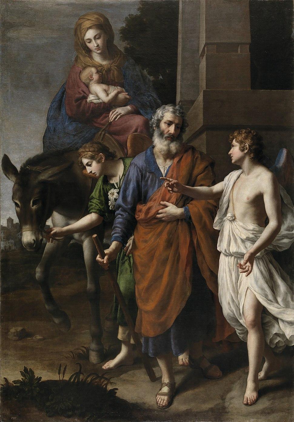 La Huida a Egipto (Alessandro Turchi)