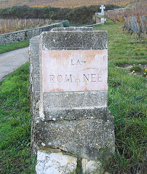 La Romanée vineyard sign.jpg
