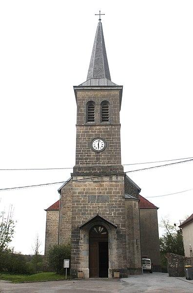 Église de La Vèze (Doubs).