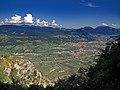 La Valle dell'Adige con il capoluogo di Trento.jpg