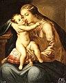 La Virgen con el Niño. Obra anónima del siglo XVII (Museo del Prado).jpg