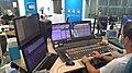 La console et le studio de diffusion de France Bleu Vaucluse (septembre 2021).jpg