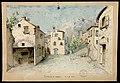 La fiera sul sagrato, la cucina in casa di Anacleto Fandigli, bozzetto di artista ignoto per La collana di Pasqua (1896) - Archivio Storico Ricordi ICON009544.jpg