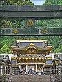 La porte Yomei-mon du sanctuaire shinto Toshogu de Nikko (Japon) (42294125755).jpg