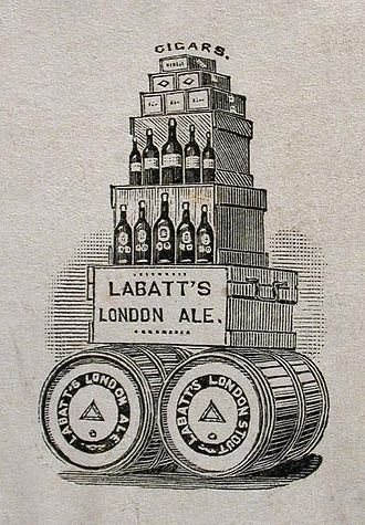 Labatt Brewing Company - Early advertisement