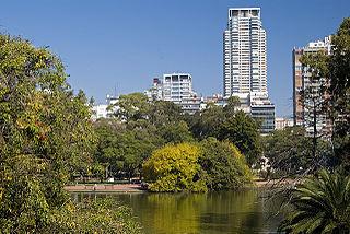 Parque Tres de Febrero park in Argentina