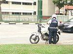 Land Transport Authority enforcement officer, Singapore - 20140118.jpg
