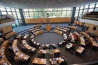 Landtag of Thuringia - Image: Landtagprojekt Thueringen Erfurt 2011 (Ra Boe) 024