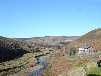 Forest of Bowland - Smelt Mill cottages, Bowland Pennine Mountain Rescue Team HQ