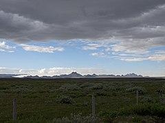 Langjökull from Gullfoss.jpg