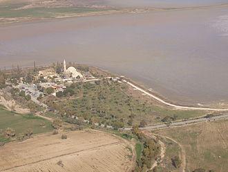 Hala Sultan Tekke - Image: Larnaca Salt Lake