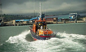 Waveney-class lifeboat - Image: Larne lifeboat (3) geograph.org.uk 635530