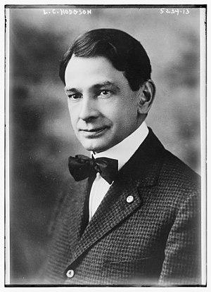 Minnesota gubernatorial election, 1920 - Image: Laurence C Hodgson 1919