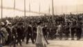 Le Loro Maestà Vittorio Emanuele III ed Elena al varo della R.N. Andrea Doria.png