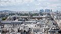 Le musée du Louvre vu de la Tour Saint-Jacques, Paris août 2014.jpg