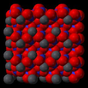 Lead(II) nitrate - Image: Lead(II) nitrate xtal 3D SF