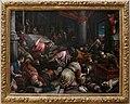Leandro bassano (bottega), cacciata dei mercanti dal tempio, 1578 ca.jpg