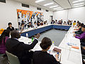 Lecture at Nagasaki University (11050499894).jpg