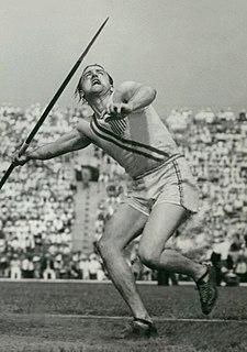 Lee Bartlett Olympic javelin thrower