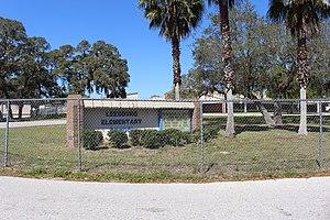 Leesburg, Florida - Image: Leesburg Elementary School, Leesburg