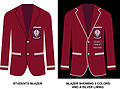 Lenana School Blazer Showing Blazer for Normal Student and Silver Lined Blazer, LenanaBlazer2.jpeg