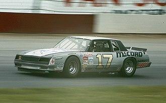Lennie Pond - 1985 racecar