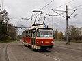Levského, Tatra T3 při vjezdu.jpg