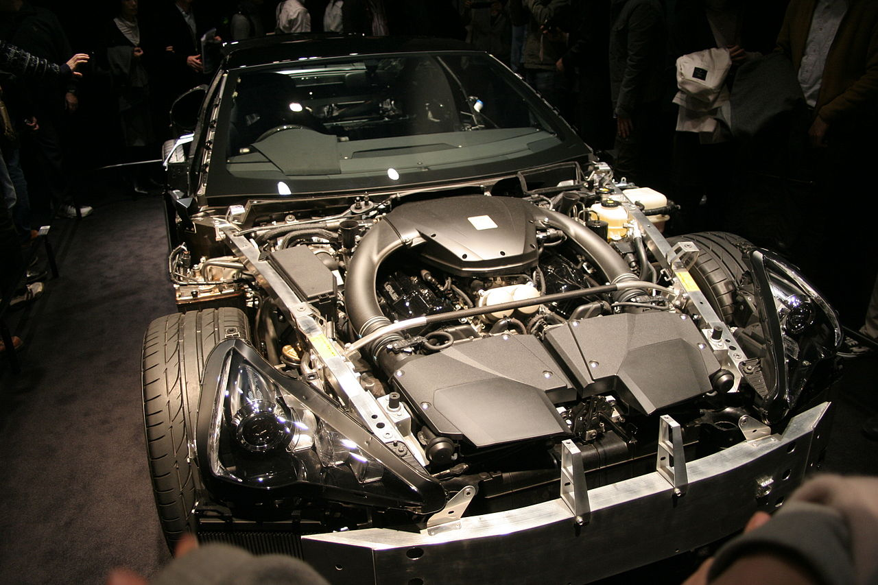 file lexus lfa engine bay without wikimedia commons. Black Bedroom Furniture Sets. Home Design Ideas