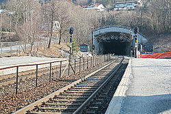Lieråsen tunnel