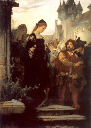Sándor Liezen-Mayer - Image: Liezen Mayer Faust and Marguerite 1873 75