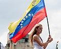Lilian Tintori with Venezuelan Flag.jpg