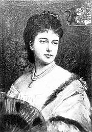 Portrait of Lillie De Hegermann-Lindencrone, circa 1880