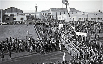 Cinecittà - Inauguration of the studios in 1937
