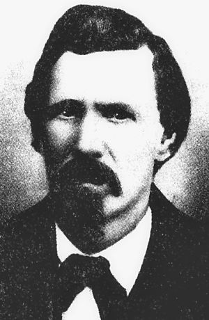 Billy the Kid - Lincoln County Sheriff William J. Brady, 1872