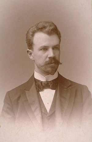Lincoln Steffens - Steffens in 1894. Photo by Rockwood.